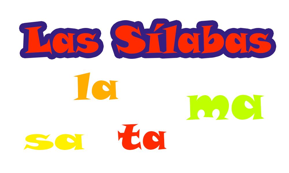juego de lenguaje-Las Silabas 1