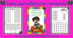 ¿Sabes que multiplicación representa?