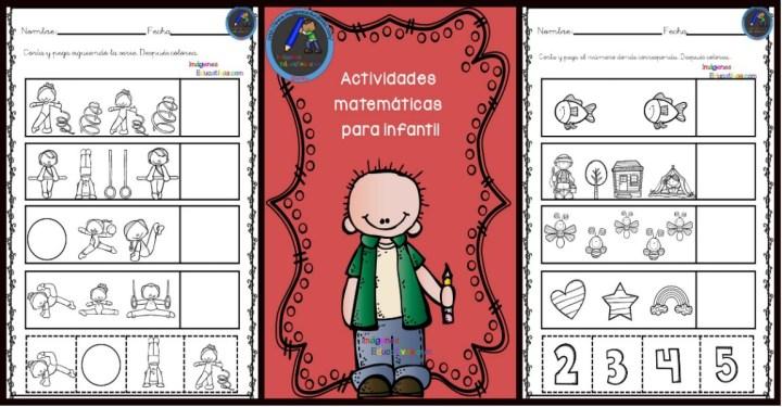 Actividades matemáticas para infantil