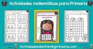 Actividades matemáticas para Primaria