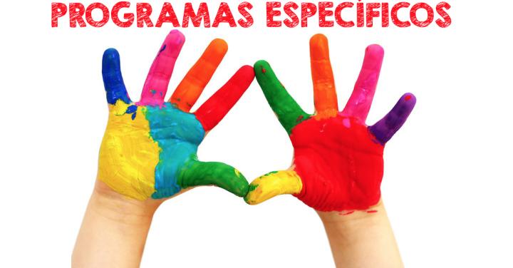 Colección de PROGRAMAS ESPECÍFICOS