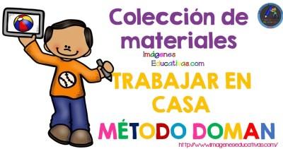 Colección de materiales para trabajar MÉTODO DOMAN en casa