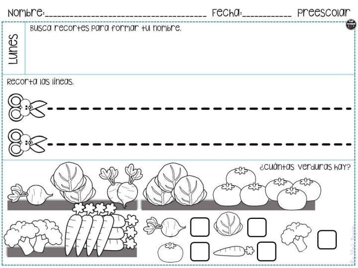Cuaderno de repaso para Preescolar e Infantil