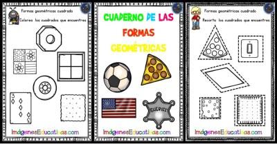 Cuaderno para trabajar las formas geométricas