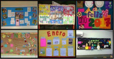 Recopilación de ideas para el periódico mural de ENERO.