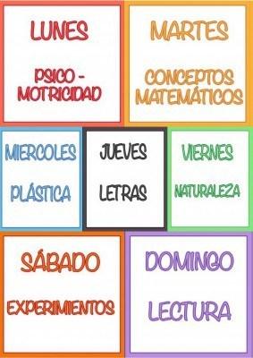 Semana 1 mes de Julio EducaDiver: 31 actividades para niños.