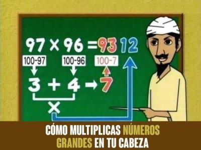 Trucos Matemáticos que Jamás te Enseñaron en la Escuela