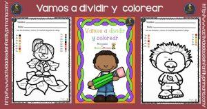 Vamos a dividir y colorear en primaria