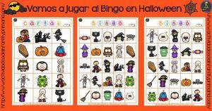 Vamos a jugar al Bingo en Halloween